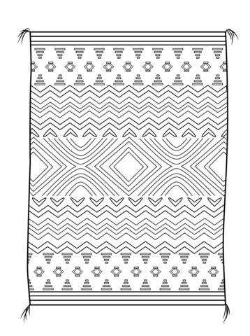 indian basket coloring page navajo blanket coloring page free printable coloring pages
