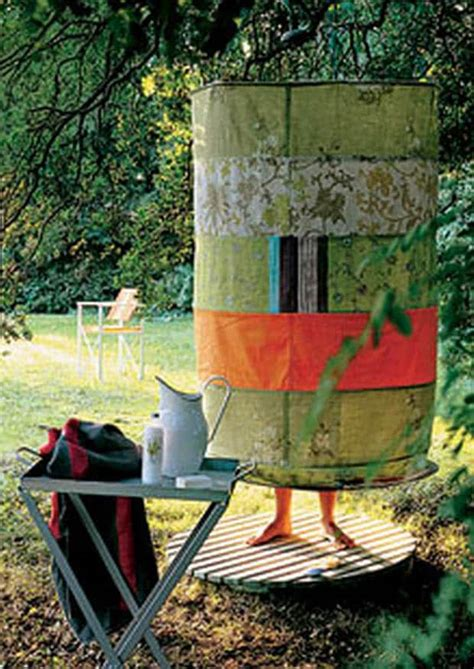 diy outdoor showers 16 diy outdoor shower ideas a of rainbow
