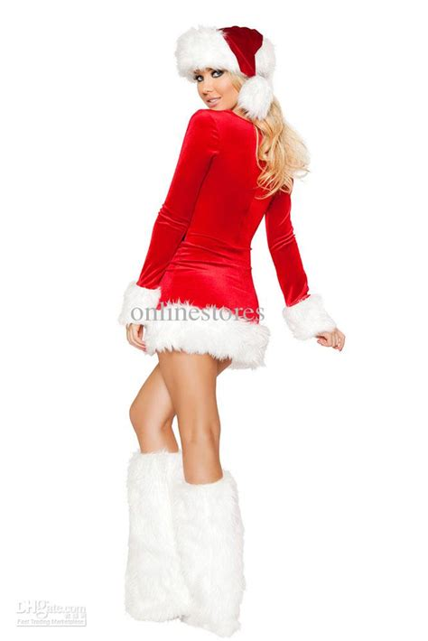 mrs santa claus dress costume 7219 sexy christmas costume