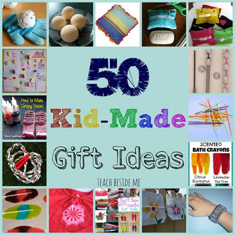 kid made gift ideas for family teach beside me