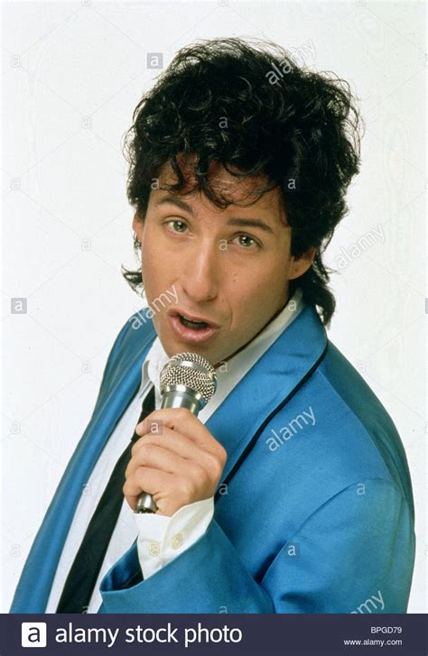Wedding Singer by Adam Sandler The Wedding Singer 1998 Stock Photo