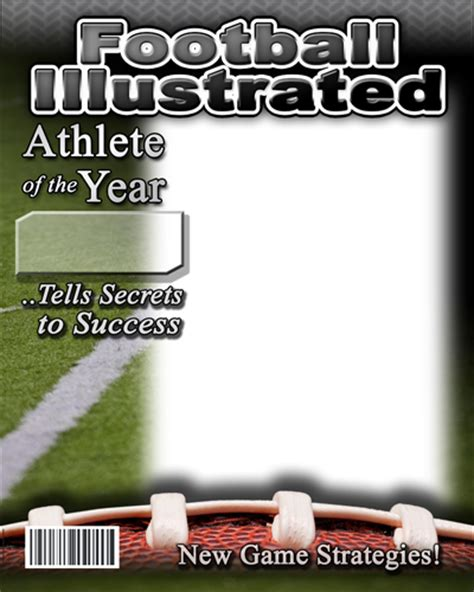 magazine covers templates sports illustrated images