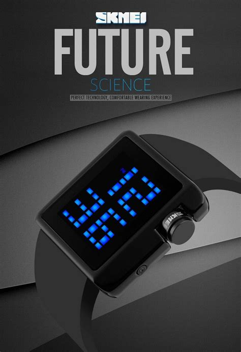 Jam Tangan Led Skmei Dg1142 skmei jam tangan led 1145 black jakartanotebook