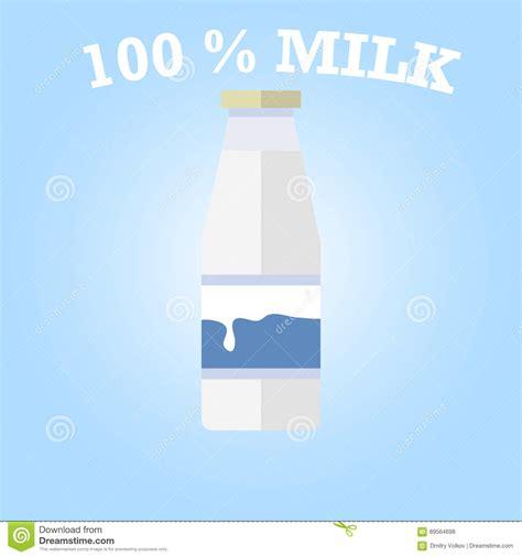 milk design vector bottle of milk stock vector image of dairy liquid fresh