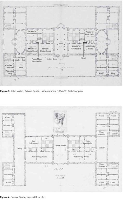 belvoir castle floor plan 23 john webb belvoir castle proposed ground and first