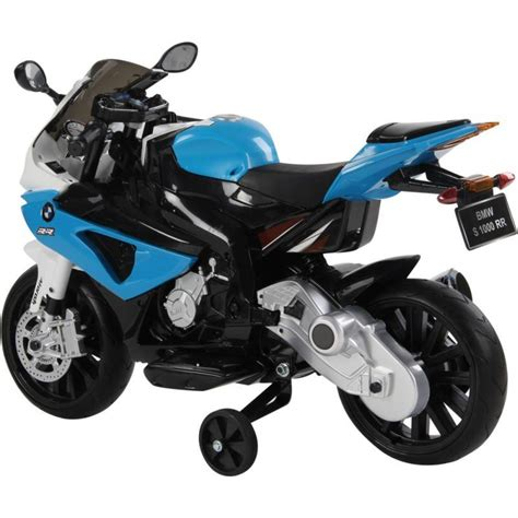 electric motorbike for bmw kid s ride on electric motorbike in blue 12v buy