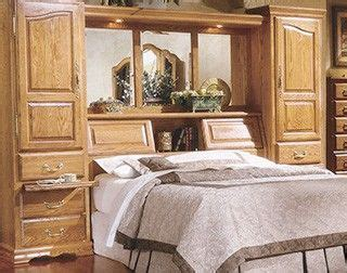 pier bed wall king size oak wall bed pier group