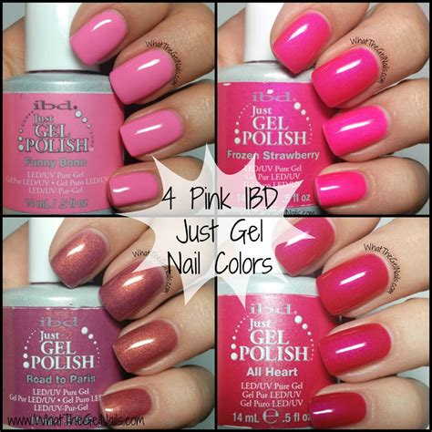 nail colors for may 2015 4 pink ibd just gel nail polish colors