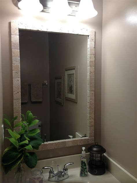 do it yourself framing a bathroom mirror do it yourself mirror frame home repair pinterest