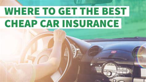 cheap car insurance gobankingrates