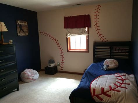 Baseball Bedroom Decorations 17 Best Ideas About Boys Baseball Bedroom On Baseball Room Decor Cool For