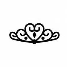 ティアラ|シルエット イラストの無料ダウンロードサイト「シルエットac」