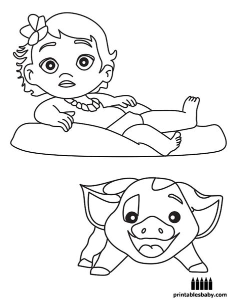 cartoon coloring pages free printable moana printables baby free cartoon coloring pages
