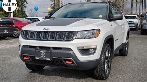 White Jeep Compass 2017 Jeep Compass Trailhawk