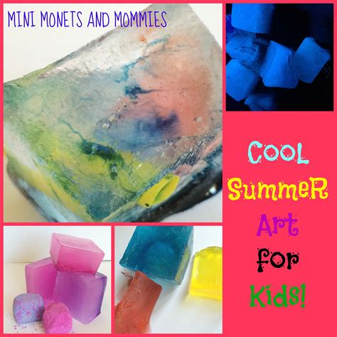 cool summer crafts for mini monets and mommies cool summer activities for
