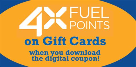 Fuel Gift Card Balance - kroger 4x fuel points with gift card purchase how to have it all