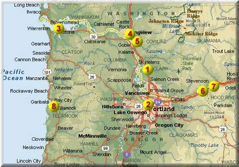 columbia river fishing map trendystyle willamette river launch
