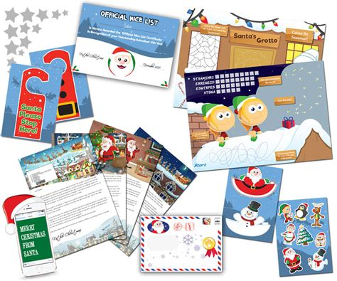 personalised letter from santa charity big santa letter personalised letters from santa claus