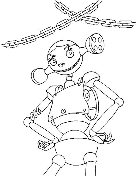 robots movie coloring pages coloring pages