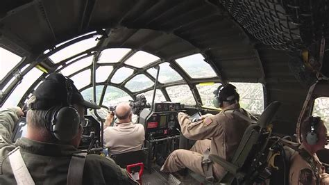"B-29 Superfortress ""FIFI"" Cockpit in Flight, Approach, and ... B 29 Inside"