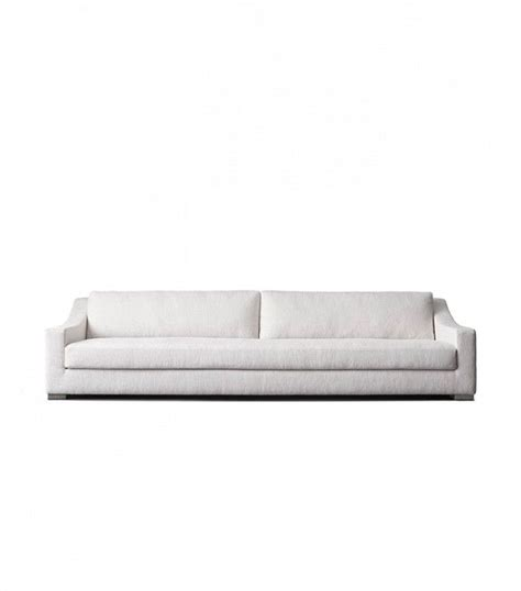 restoration hardware fabric sofas restoration hardware unveils a major new d 233 cor brand