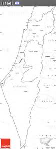 Free Outline Map Of Israel by Free Blank Simple Map Of Israel