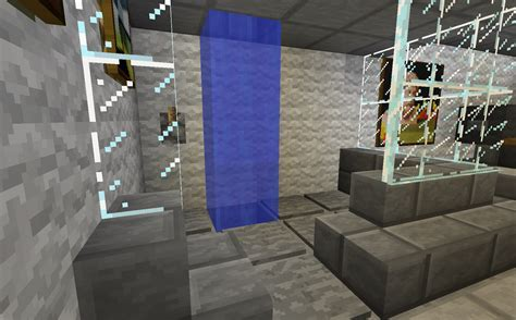Minecraft Projects: Minecraft Bathroom: with Functional