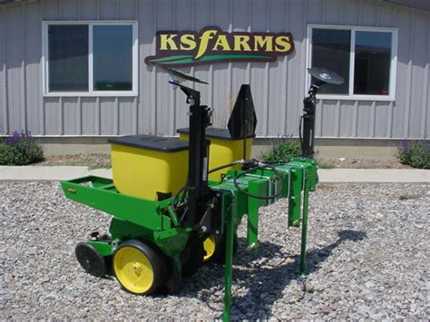 food plot planters quality built deere plot planters by ksfarms ptci