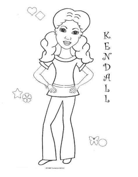African Americans American Girls And Coloring Pages On American Doll Isabelle Coloring Pages Printable