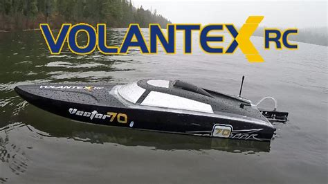 rc boats on water volantex vector 70 rc boat on the water youtube