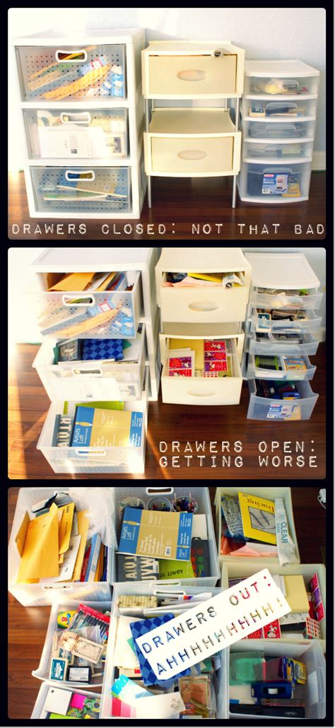 How To Say Drawer by Craft Drawer Organization For The Budget Savvy The Thinking Closet