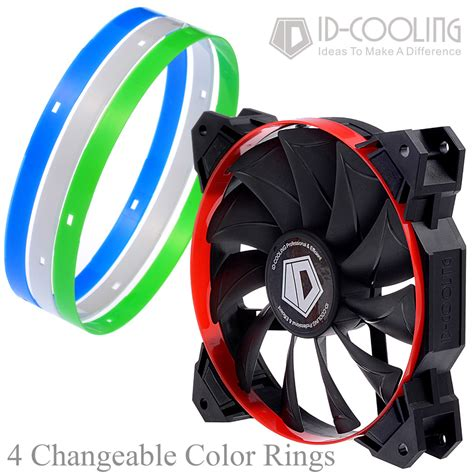 high cfm 120mm fan 4 color optional gaming theme high static pressure 84 5cfm