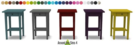 Ikea Dining Room Set Around The Sims 4 Custom Content Download Objects
