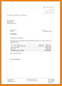 Rechnung Schreiben Als Student Muster 7 Rechnung Schreiben Privat Vorlage Sponsorshipletterr