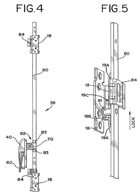 awning window mechanism patent us8448996 casement window lock google patents