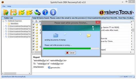 Dbx Tool outlook express recovery tool fix corrupt dbx file