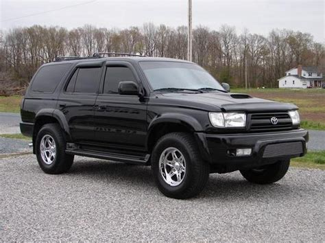 Toyota 4runner Blacked Out 2000 Toyota 4runner Blacked Out