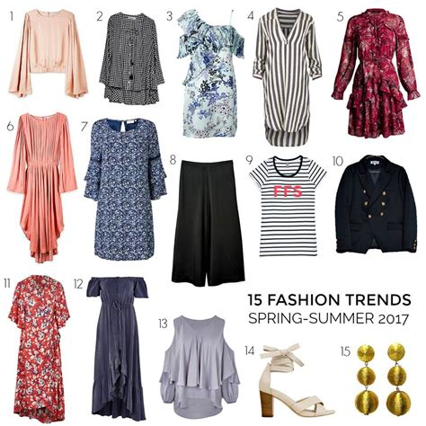 What Think Of Springs Trends by Summer 2017 Fashion Trends From Styling You