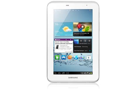 samsung gt p3110 galaxy tab 2 7 quot tablet 8gb white refurbished grade b