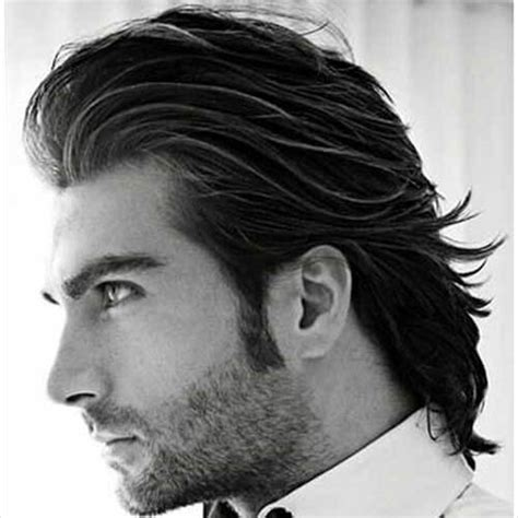 men celebrities u0027 slicked back hairstyles men u0027s