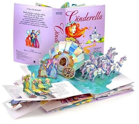 libro cinderella a pop up fairy my imagination kingdom