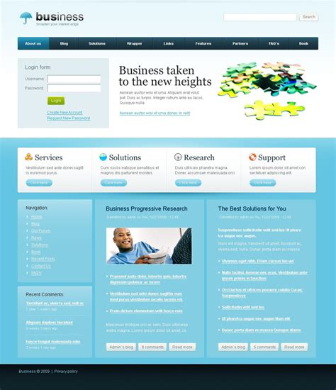 drupal themes government business drupal template 26524 by wt drupal templates