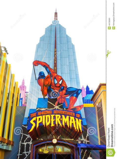 theme park list orlando spiderman ride at universal studios islands of adventure
