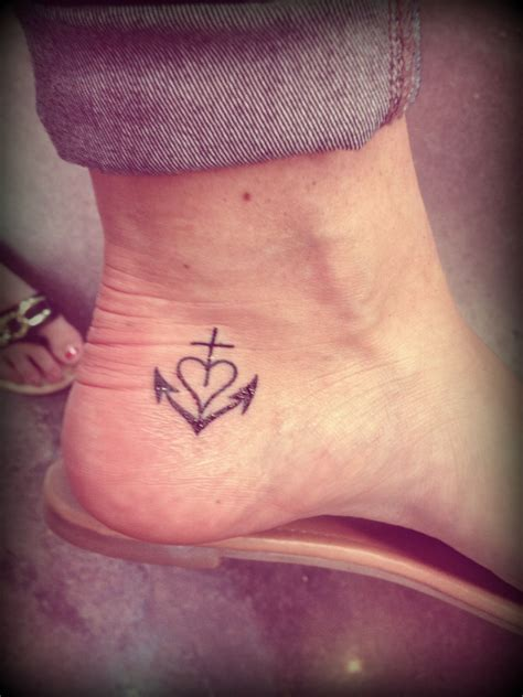 tattoos that represent love camargue cross the symbol represents the three