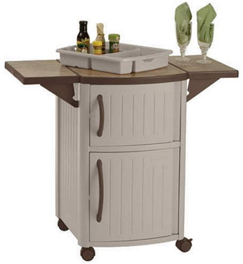 outdoor grill storage cabinet new rolling outdoor serving station cabinet bbq patio