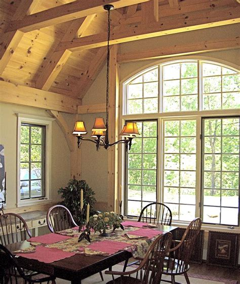 Dining Room Framed by Timber Framed Dining Rooms By Mill Creek