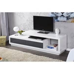 Wonderful Meuble Tv Angle Design Salon #2: Meuble-tv-meuble-de-salon-marvin-blanc-gris-laque-4.jpg