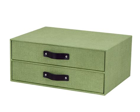 canvas paper 2 drawer unit