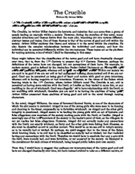 the crucible themes good vs evil good vs evil the crucible essays thedrudgereort804 web