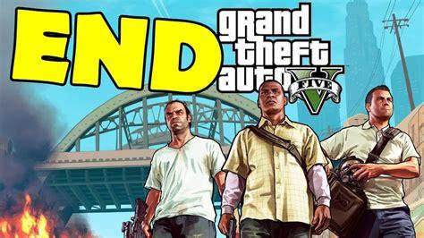 Play To The End grand theft auto 5 ending walkthrough gameplay gta v gta 5
